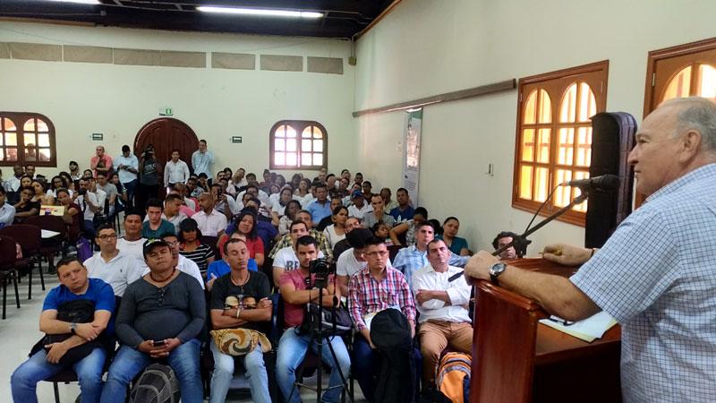 Efraín Quintero Molina explicó que la Licenciatura será un programa en coordinación con la Gobernación del Cesar, la Universidad del Atlántico y la Universidad Popular del Cesar.