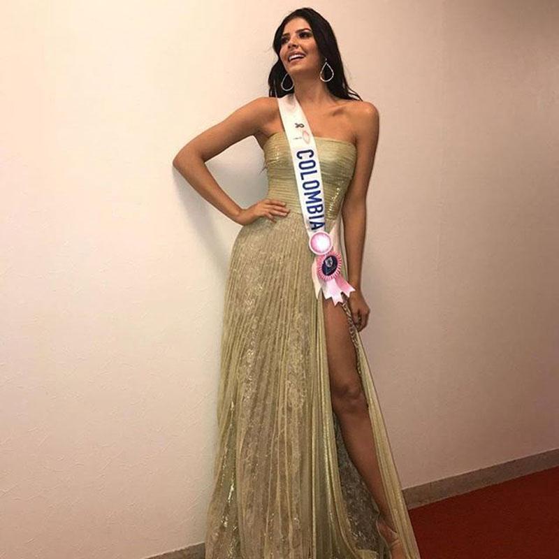 La imponencia en pasarela y el buen registro en cámara suscita buenos comentarios para la Señorita Colombia.
