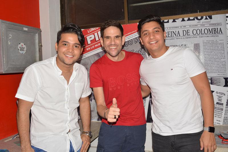 Carlos Mario Parra, Juancho de la Espriella y Julio Rojas Jr. le contaron a El Pilón sobre la nueva propuesta musical que dirige el reconocido acordeonero.