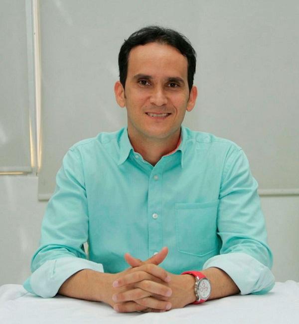 Secretario de Obras de Valledupar, Juan Pablo Morón Riveira