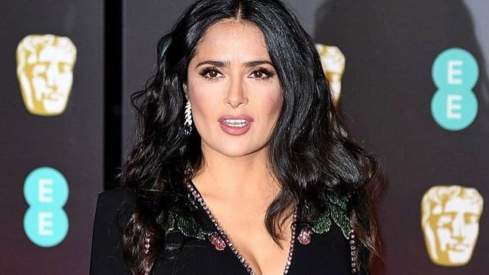 Salma Hayek, actriz mexicana. Foto: Internet.