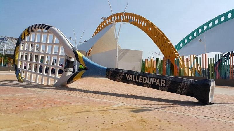 Complejo de tenis de Valledupar.   Foto: Joaquín Ramírez.