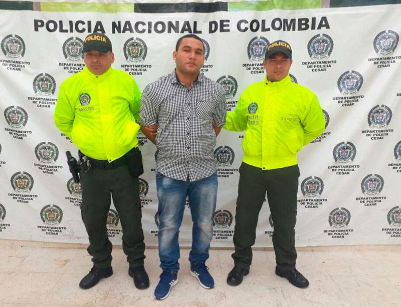Alex Juvenal Cruz Palomares fue detenido por la Sijín.