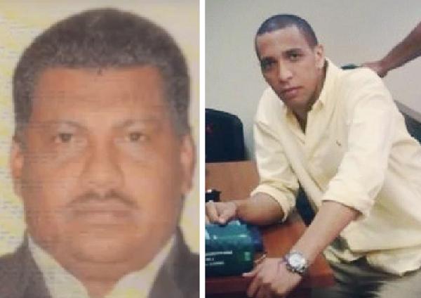 Los juristas Mauricio Pinzón y Edwin Puello, al parecer asesinados por el ejercicio de su labor en el Cesar.   Foto: Cortesía.