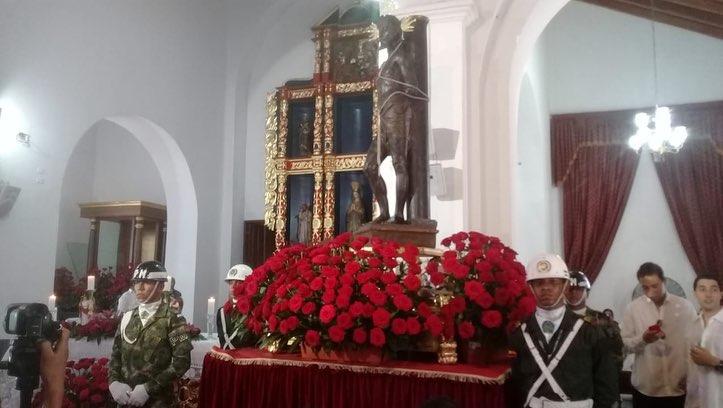 Santo Ecce Homo, patrono de Valledupar.   Foto: Joaquín Ramírez.