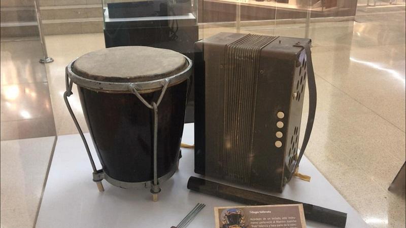 Hasta el 30 de abril estará abierta la exposición sobre el acordeón.  Foto: Cortesía.