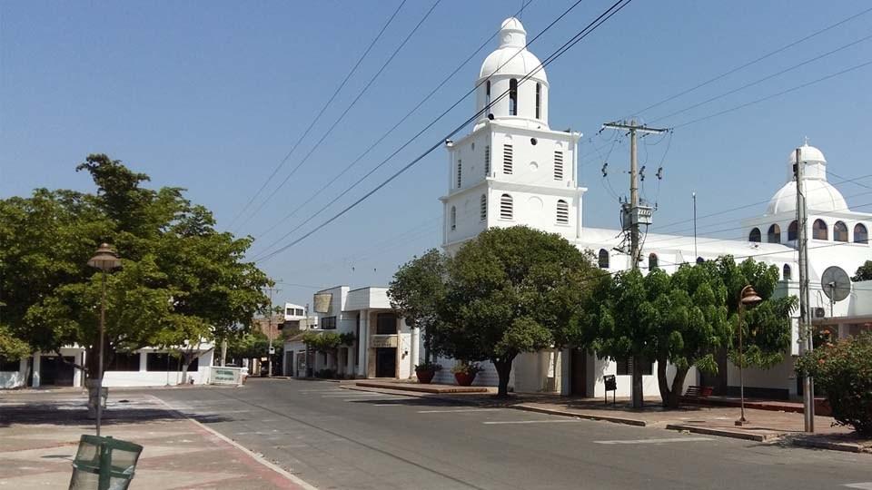 Iglesia Nuestra Señora del Perpetuo Socorro de San Diego, Cesar.  Imagen de referencia.