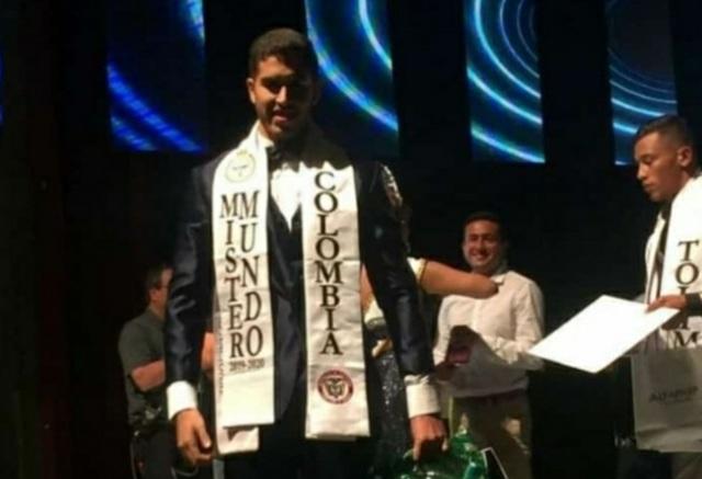 El vallenato Elías Rafael Lacouture Quiroz es el nuevo Míster Colombia 2019  CORTESÍA