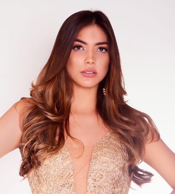 Señorita Cesar, Katheen Mariño.  CORTESÍA