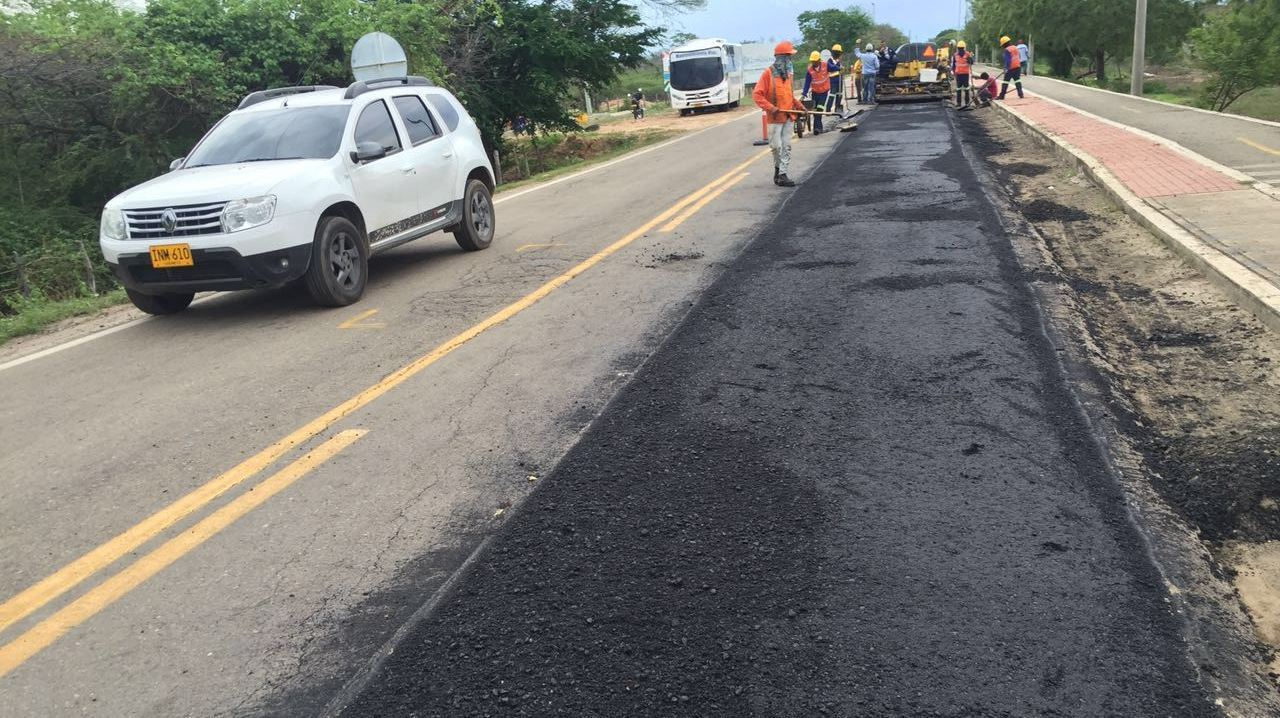 Invías adjudicó la licitación para el mejoramiento y mantenimiento de la vía Río Pereira– San Juan del Cesar– Buenavista - Paradero.   Cortesía/EL PILÓN