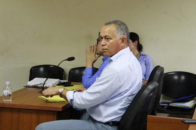 A la audiencia asistió el exmandatario.   FOTO: ARCHIVO