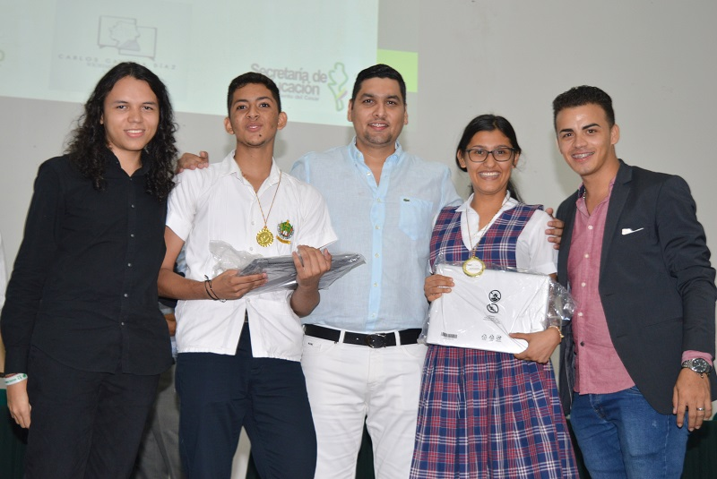Aquí aparecen los ganadores de esta iniciativa académica.   FOTO: CORTESÍA