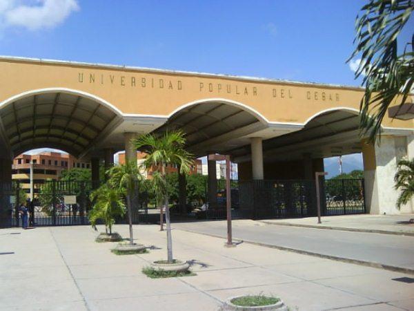 Universidad Popular del Cesar.  Foto: Cortesía.
