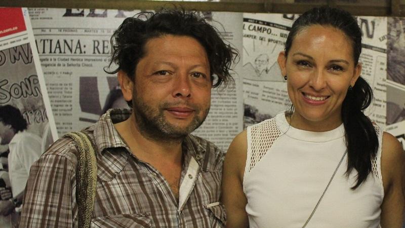 Carlos Hernandéz (Director) y Claudia Angulo (productor) hicieron parte de la de la producción de la película 'Oveja Negra' con 22 miembros que son talento regional.