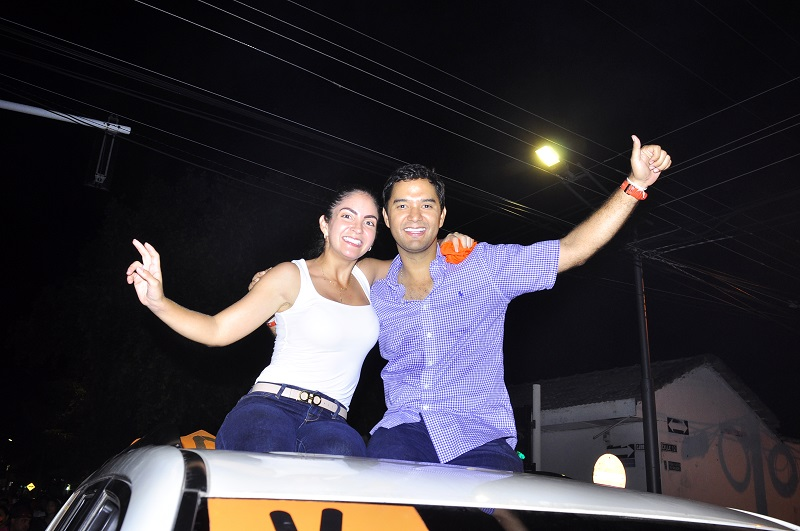 Contra todo pronóstico, Mello Castro es el nuevo alcalde de Valledupar.   FOTO: JOAQUÍN RAMÍREZ