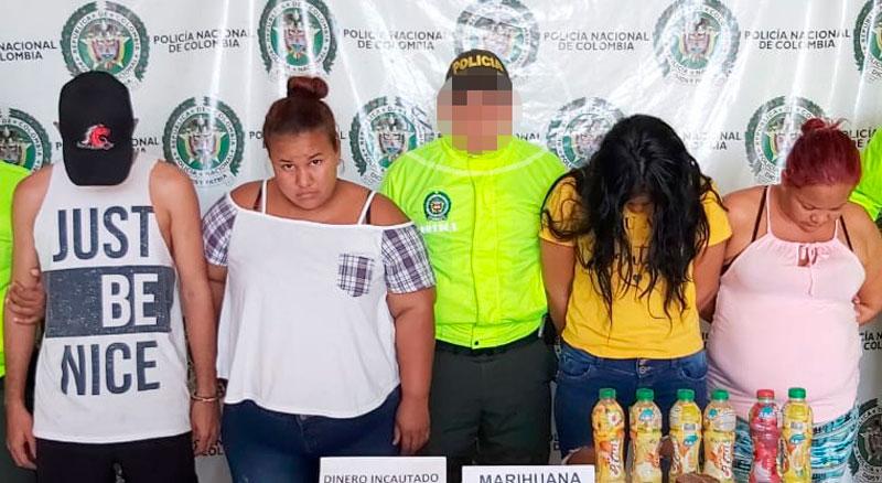 Estos fueron  los detenidos mediante allanamientos.