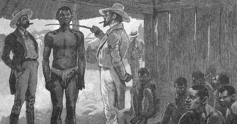 La esclavitud de los negros traídos de América ha sido ilustrada en incontables ocasiones por artistas y literatos con el fin de presentar una idea de esta tragedia.   FOTO: REFERENCIA.