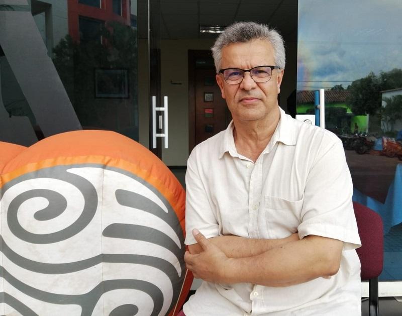 Vicente Silva Vargas,  director de Radio Nacional de Colombia.  FOTO/SUMINISTRADA.