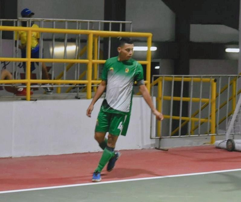 Aramys García puso la cuota goleadora en la Selección Cesar de fútbol de salón rama masculina.