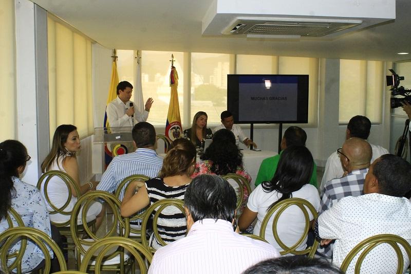 La Contraloría General de la República en el departamento del Cesar desarrolló ayer una audiencia pública de rendición de cuentas.   POR/ JOAQUÍN RAMÍREZ.