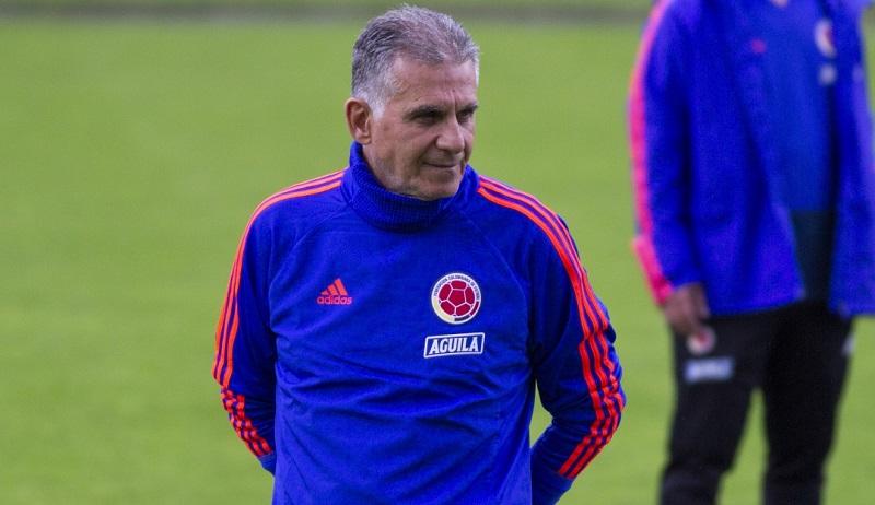 El entrenador Carlos Queiroz seguía apuntándole a la renovación de la plantilla en la selección colombiana.