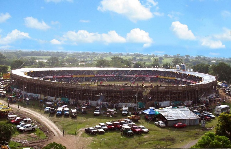 Anualmente las corralejas son el evento de entretenimiento para muchos municipios de la costa Caribe colombiana.  FOTO/ CORTESÍA.