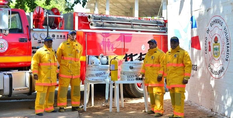 Falta de mantenimiento operativo impide desarrollo normal de los bomberos de Valledupar.  FOTO/ CORTESÍA.