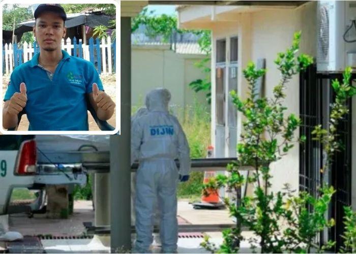 El cuerpo de la víctima era reclamado por los familiares en la mañana de ayer.