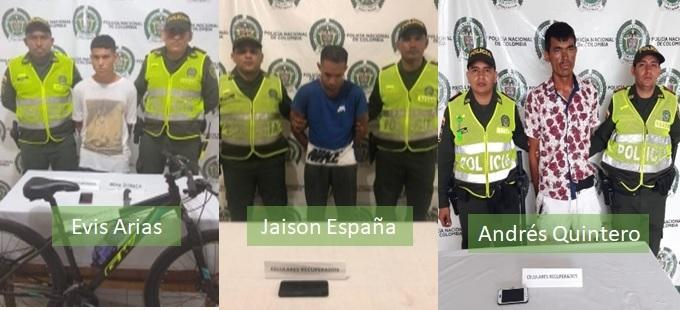 Los detuvieron por hurto de celulares en Valledupar - ElPilón.com.co