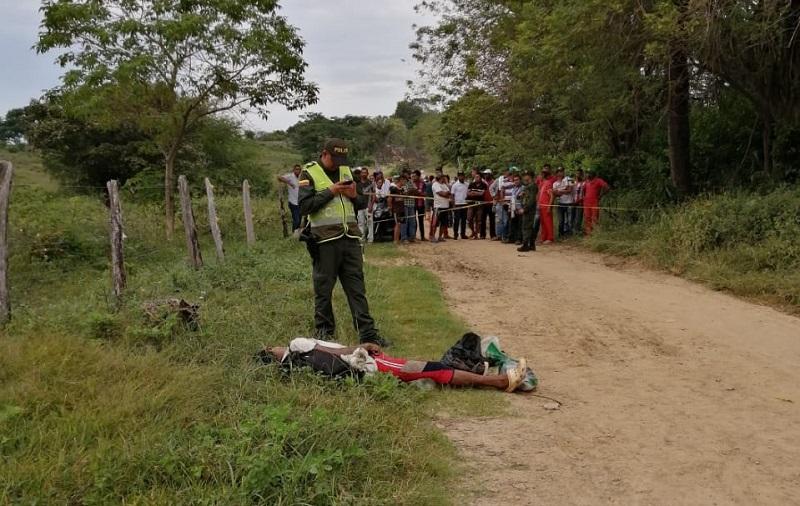 El crimen lo evidenció los habitantes del lugar quienes llamaron a las autoridades.   Foto/ JUDICIALES