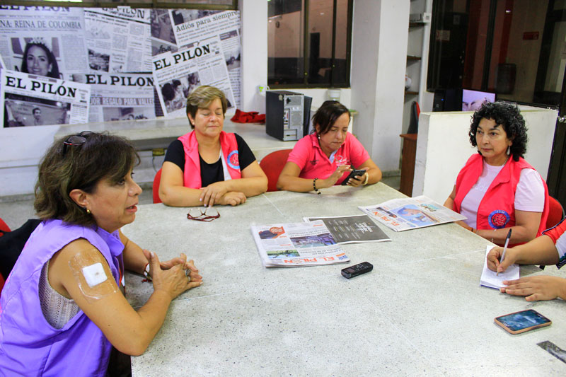 Representantes de Colombia, México y Guatemala la Unión Nacional de Mujeres se reunieron en Valledupar para analizar la violencia contra la mujer.