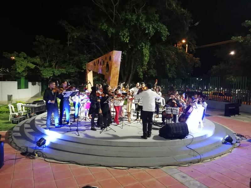 Con este concierto la Fundación Filarmónica del Cesar cierra el ciclo académico y comienza el ciclo de conciertos navideños.  FOTO/CORTESÍA.