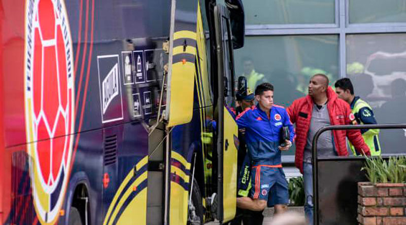 James Rodríguez se recuperará en España - ElPilón.com.co