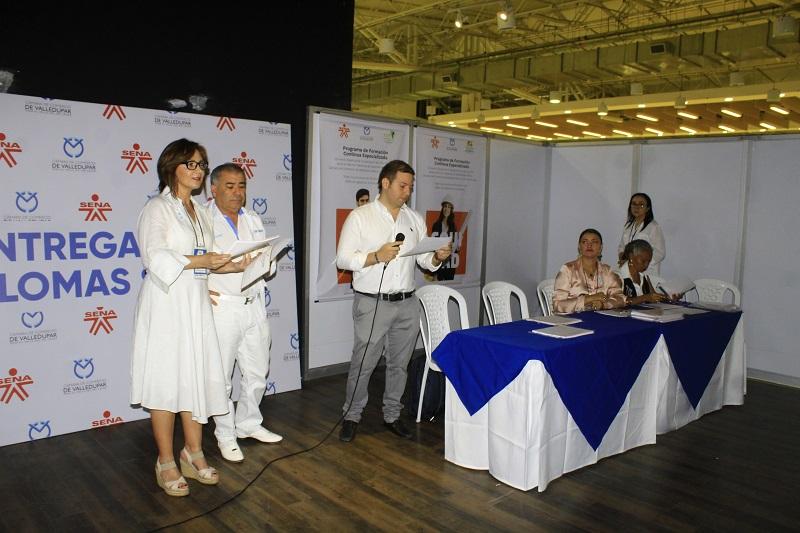 La actividad es liderada por la Cámara de Comercio de Valledupar.  FOTO/JOAQUÍN RAMÍREZ.