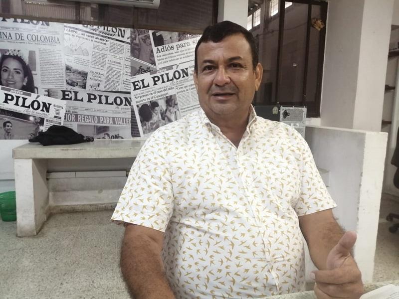 Celso Moreno, alcalde electo de Chimichagua, Cesar.  FOTO/ARCHIVO.