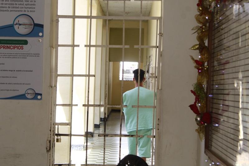 Desde Salud Mental se realizará actividades de compartir para los pacientes que pasarán fin de año en la unidad.  FOTO/JOAQUÍN RAMÍREZ.
