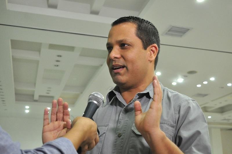 Gobernador del Cesar, Luis Alberto Monsalvo.   FOTO/ARCHIVO.