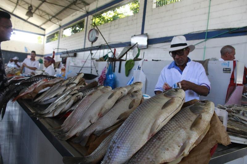 La falta del bocachico del río Magdalena, en la ciudad de Valledupar, ha provocado el incremento del precio del pescado hasta $5.000 pesos la unidad.  FOTO/JOAQUÍN RAMÍREZ