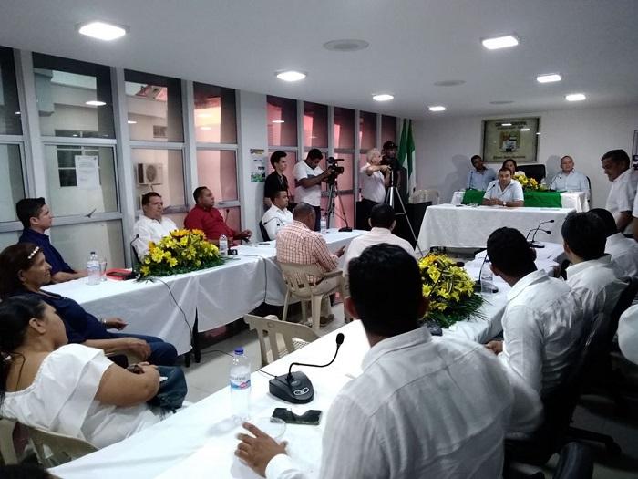El Concejo de Codazzi decidió suspender la elección de personero argumentando irregularidades en el proceso.    FOTO/CORTESÍA.