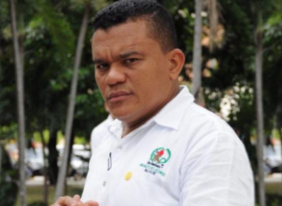 Hidalfo De la Cruz está preso desde el año pasado.