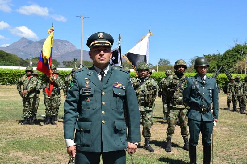El teniente coronel Henry Leguizamón Galindo.   FOTO/CORTESÍA.