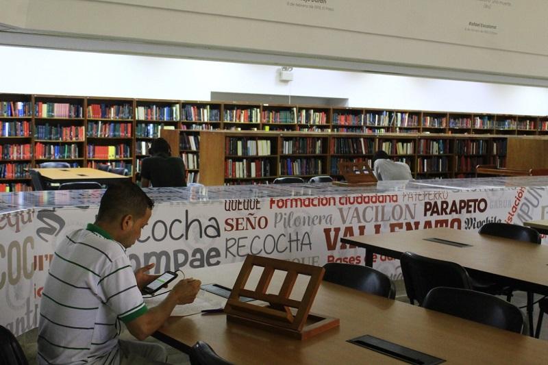 La Biblioteca del Banco de la República tiene 34.097 libros.  FOTO/JOAQUÍN RAMÍREZ.
