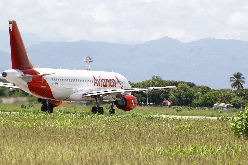 Desde el viernes 27 de marzo el vuelo Bogotá - Valledupar y el 28 de marzo de 2020, el vuelo en el horario de 6:03 a.m., Valledupar – Bogotá quedarán fuera de circulación.  FOTO/JOAQUÍN RAMÍREZ.