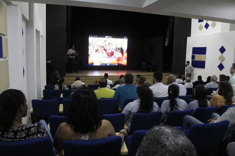 La idea es brindar un espacio al talento regional con el objetivo de impulsar a los jóvenes que incursionan en el cine.   FOTO/JOAQUÍN RAMÍREZ.