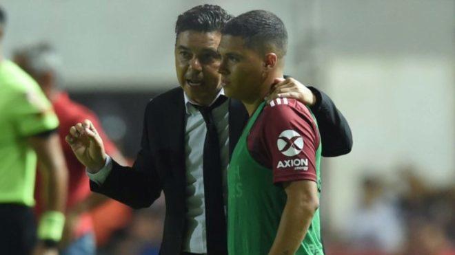 'El Muñeco' Gallardo ha sido un entrenador que siempre ha estado pendiente de Juan Fernando Quintero.