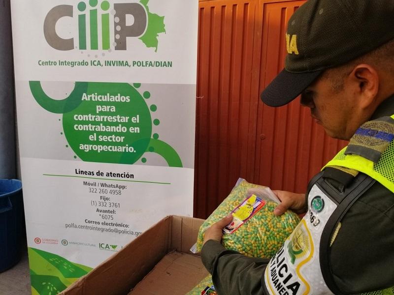 Los medicamentos fueron avaluados en 3 millones de pesos.   FOTO/JUDICIAL.