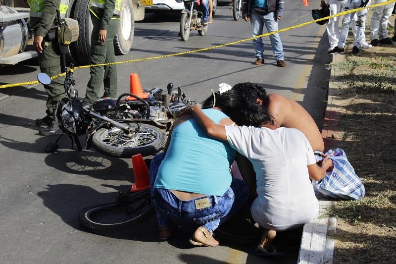 Durante el presente año van 14 víctimas fatales por accidente de tránsito en Valledupar.  FOTO/JOAQUÍN RAMÍREZ.