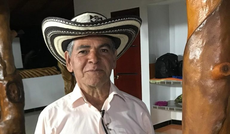 Evangelista Bohórquez, de 70 años de edad.  FOTO/CORTESÍA.