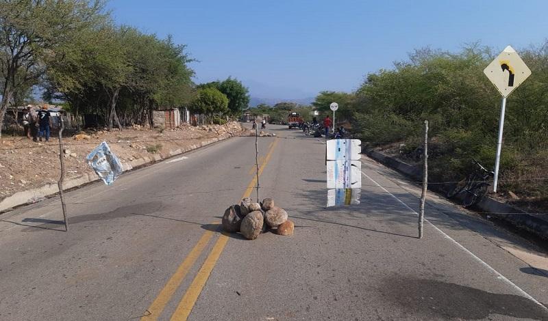 La comunidad de Patillal por ahora no quiere visitantes como medida preventiva.  FOTO/CORESÍA.