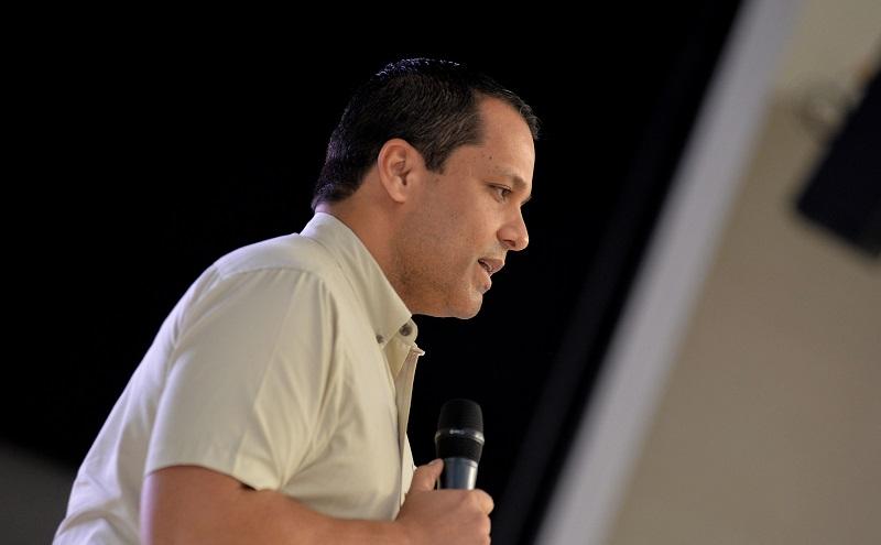 Luis Alberto Monsalvo, gobernador del Cesar.   FOTO/CORTESÍA.